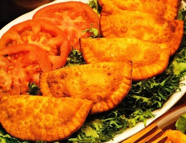 Empanadillas de salmón