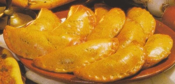 Empanadillas rellenas de espinacas