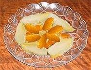Endibias con mandarina