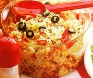 Ensalada de arroz para picnic