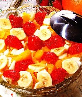 Ensalada de frutas al kirsch