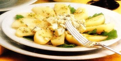 Ensalada de peras a la vinagreta