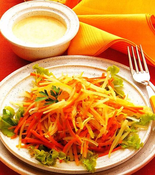 Ensalada de verduras al curry