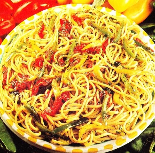 Espaguetis con anchoas