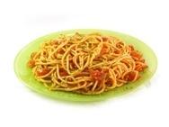 Espaguetis con sobrasada