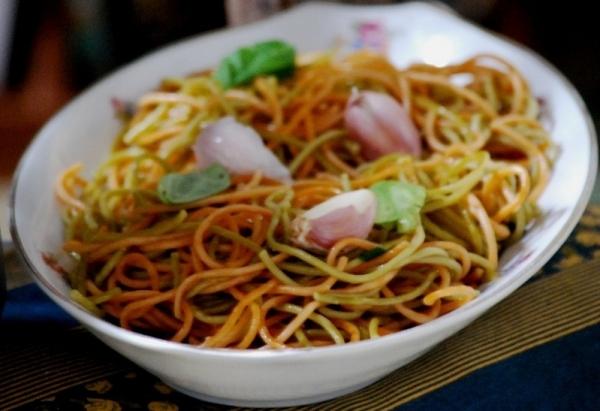 Espaguetis express