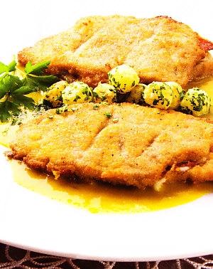 Filetes de cerdo rellenos  al curry