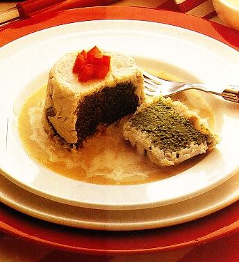 Flanes de pescado con espinacas