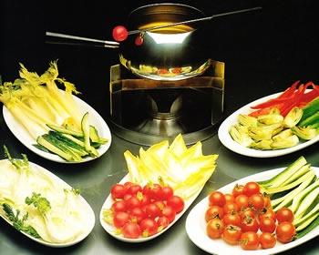 Fondue de verduras