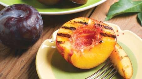 Fruta a la parrilla