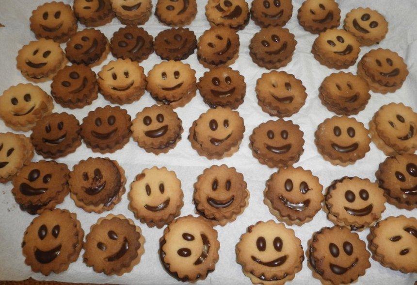 Galletas con sonrisa