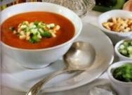 Gazpacho con cubitos