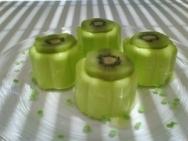Gelatina de kiwi