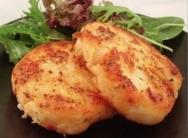 Hamburguesas de pavo rellenas de queso