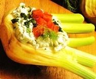 Hinojo al queso azul