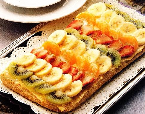 Hojaldre de frutas