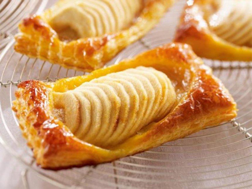 Hojaldres de manzana