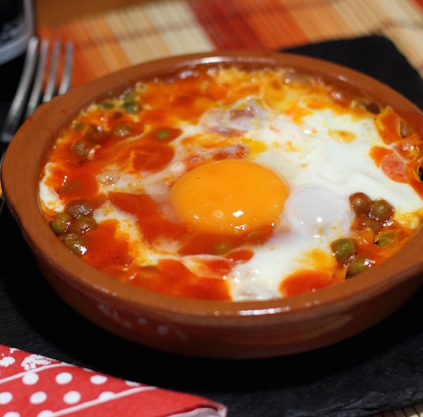 Huevos A La Flamenca The Cook Monkeys