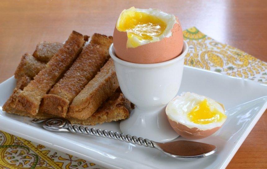 Huevos cocidos en Thermomix