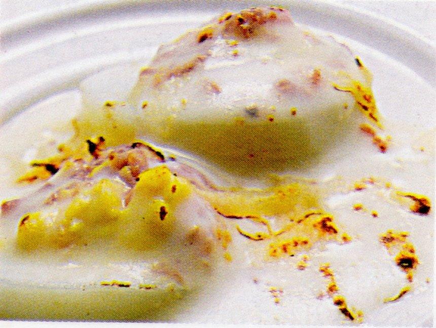 Huevos de codorniz gratinados