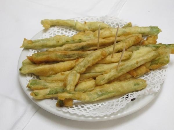 Judías verdes fritas