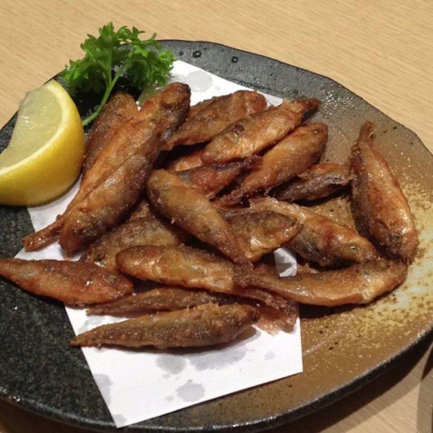 Jurel frito (aji-furai)