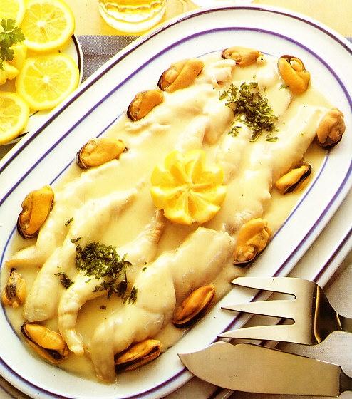 Lenguado a la normanda the cook monkeys - Lenguado al microondas ...