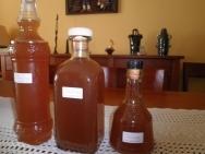 Licor de peras de roma