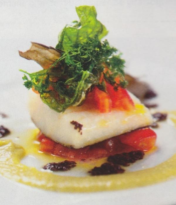 Lomo de bacalao con tomate