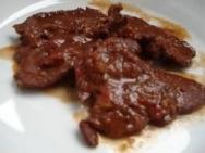 Lomo de ciervo en salsa de setas y trufa