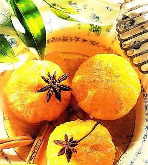Mandarinas al Oporto