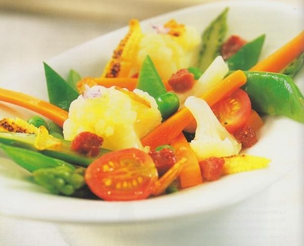 Menestra de verduras primaveral