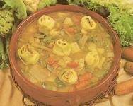 Menestra de verduras y pasta