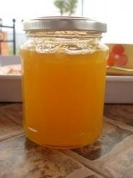 Mermelada de piña y naranja