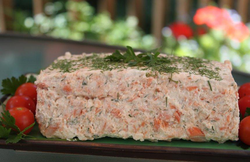 Mousse de salmón