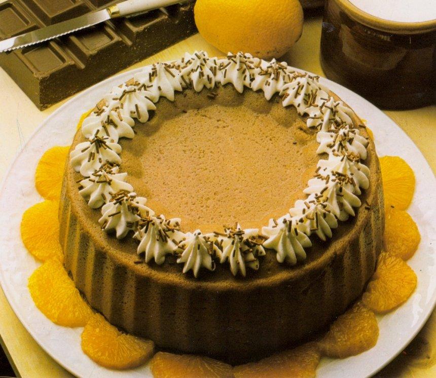 Mousse deliciosa de chocolate
