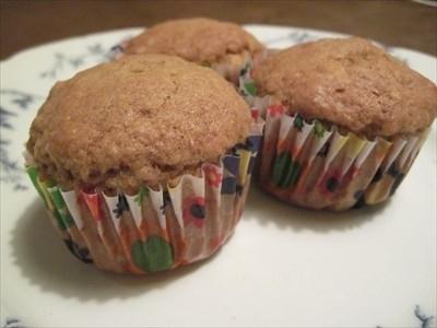 Muffins de puré de manzana