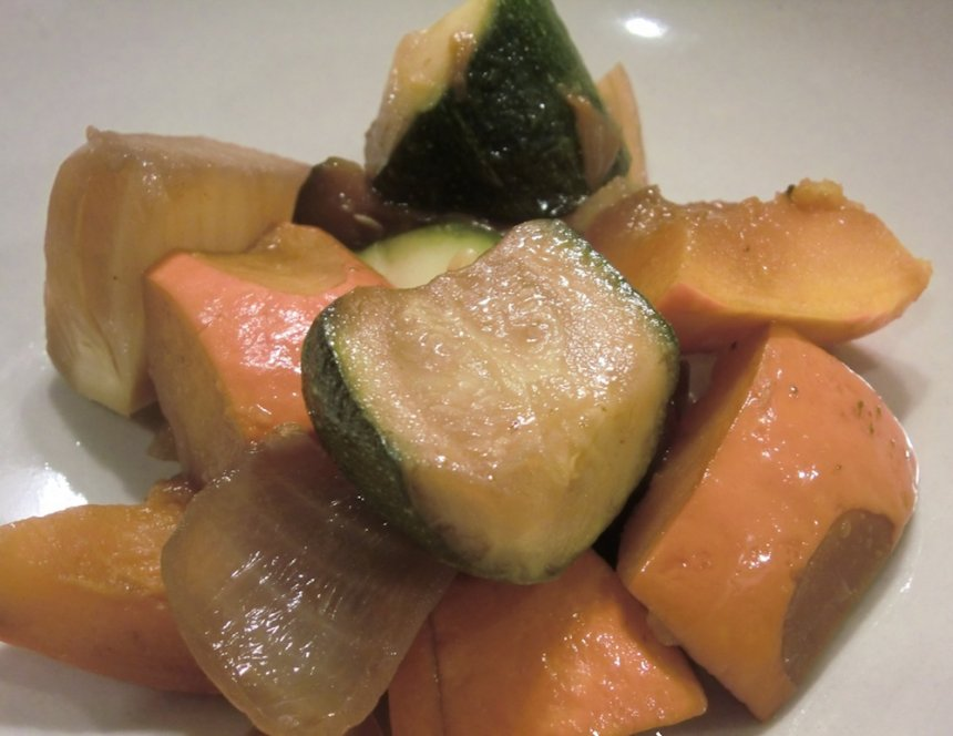 Nimono de vegetales