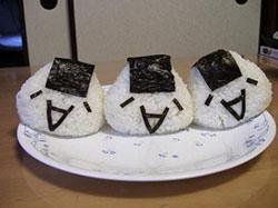 Onigiri (Bolas de arroz)
