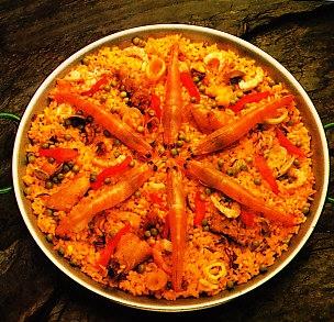 Paella campestre