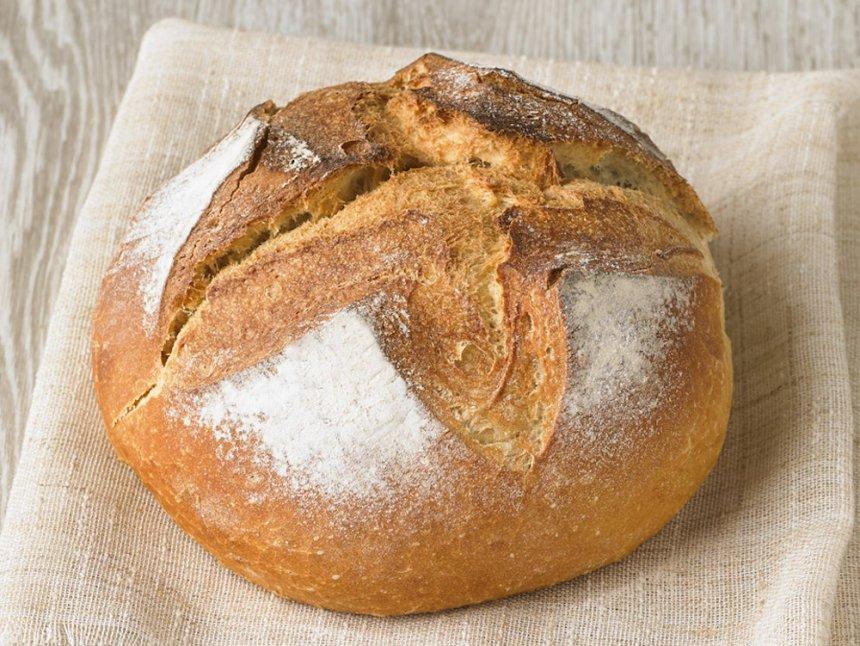 Pan de payés rápido en Thermomix