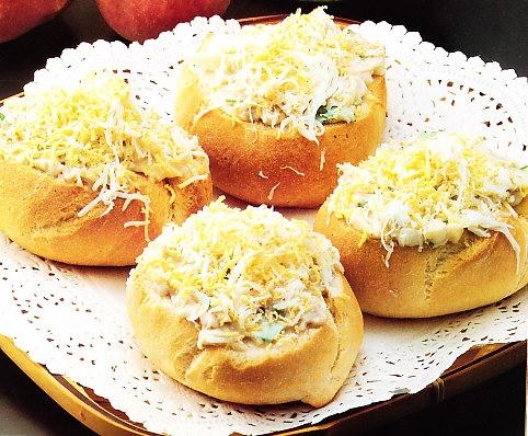 Panecillos de queso a las finas hierbas