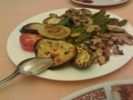 Parrillada de verduras a la vinagreta