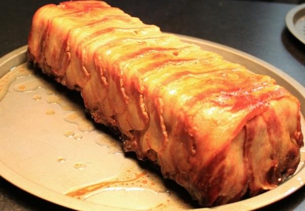 Pastel de carne y setas