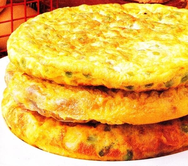 Pastel de tres tortillas