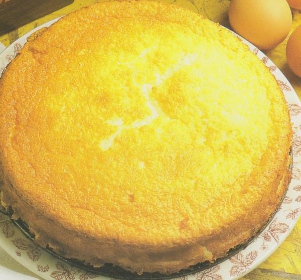 Pastel ligero de queso