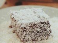 Pastelitos crujientes de chocolate y coco
