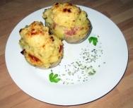 Patatas al horno rellenas