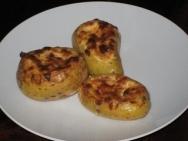 Patatas asadas con queso
