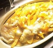 Patatas con huevos